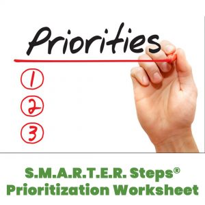 SMARTER Steps Prioritization Worksheet thumbnail