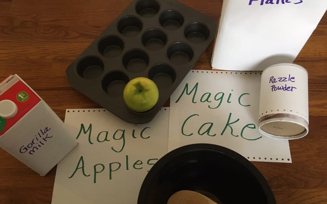 Smarter Steps: Using Magic Recipes in On-line Therapy for IEP Goals